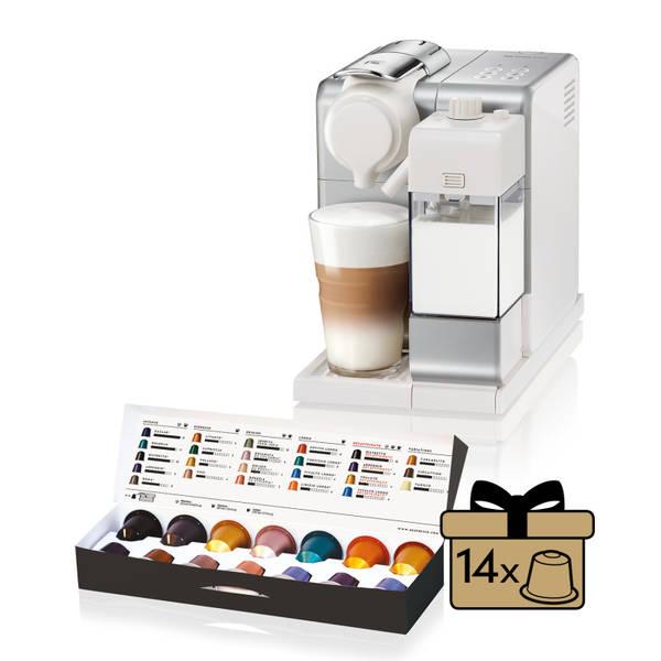 Espresso DeLonghi Nespresso Lattissima Touch EN560.S stříbrné
