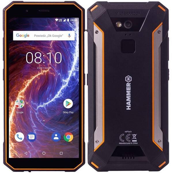 Mobilní telefon myPhone HAMMER ENERGY 18X9 LTE (TELMYAHENER189LOR) černý/oranžový (rozbalené zboží 3540200007)