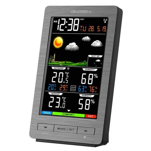 Meteorologická stanice GoGEN ME 2930 šedá