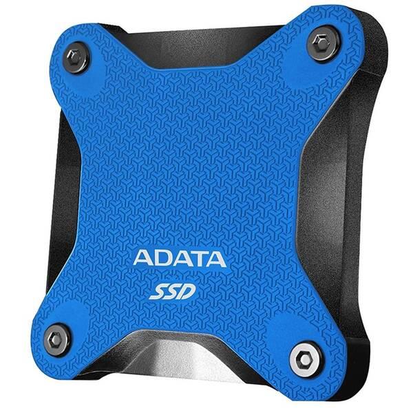 SSD externí ADATA SD600Q 480GB (ASD600Q-480GU31-CBL) modrý