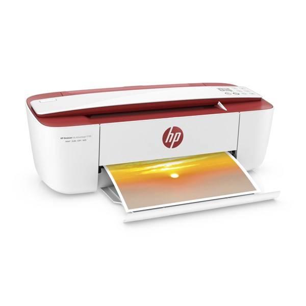 Tiskárna multifunkční HP DeskJet Ink Advantage 3788 (T8W49C#A82) bílá barva/červená barva