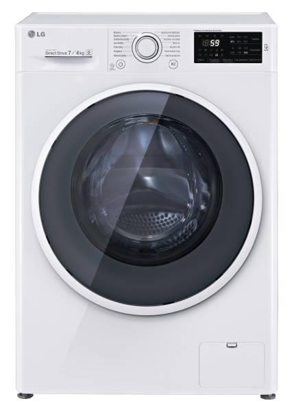 Pračka se sušičkou LG F72U2HDM0N bílá