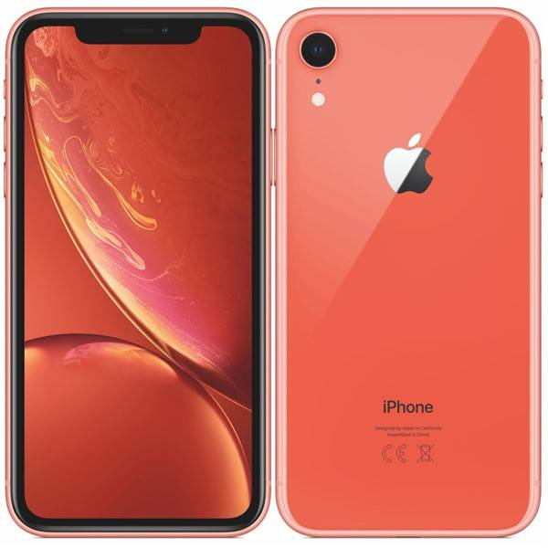 Mobilní telefon Apple iPhone XR 64 GB - coral (MRY82CN/A)