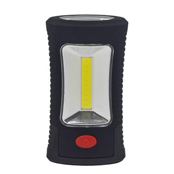 Svítilna Solight závěsná, 3W COB + 3 SMD LED (WL108) černá barva