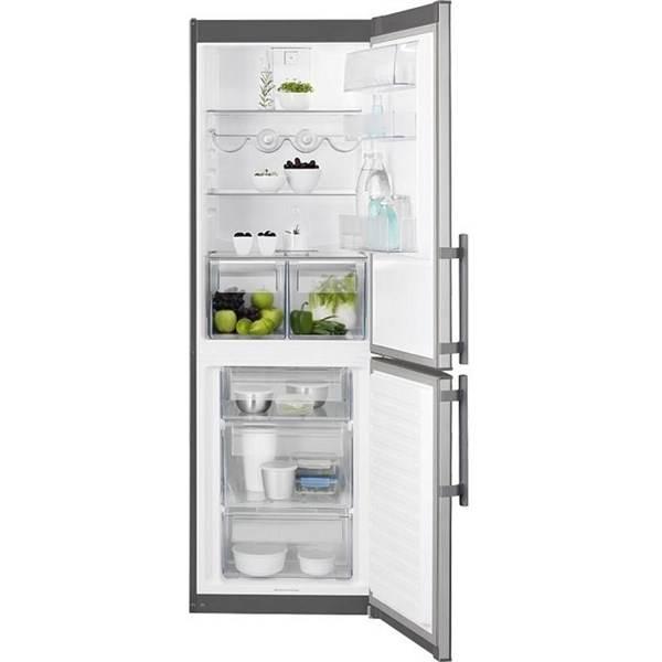 Chladnička s mrazničkou Electrolux EN3613MOX nerez