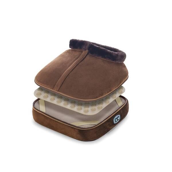 Vyhřívací bota Wellneo 3in1 warm massager hnědá (vrácené zboží 8800514821)