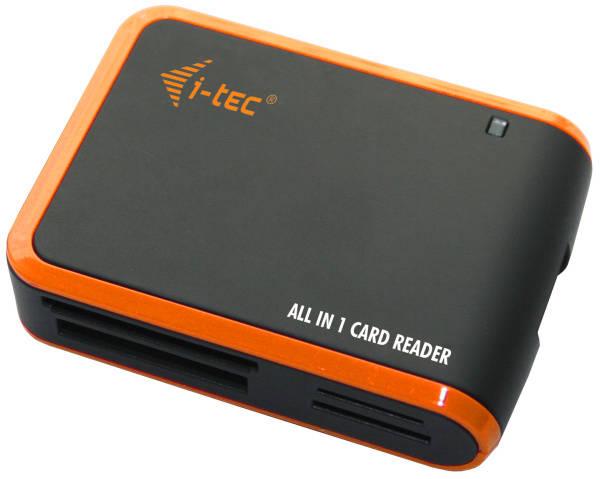 Čtečka paměťových karet i-tec All in One USB 2.0 (USBALL3-B) černá