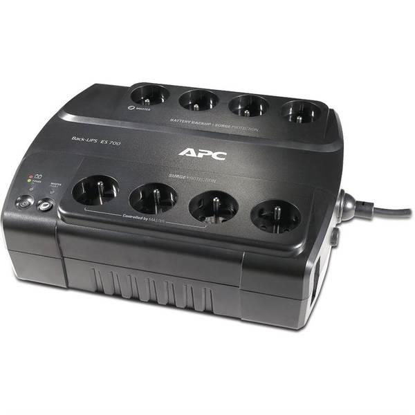 Záložní zdroj APC Power-Saving Back-UPS ES 700VA (BE700G-FR) černý