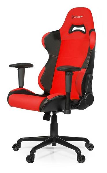 Herní židle Arozzi TORRETTA (TORRETTA-RD) černá/červená