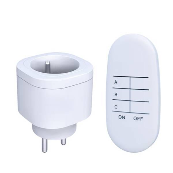 Dálkově ovládané zásuvky Solight 2 zásuvky, 1 ovladač (DY08)
