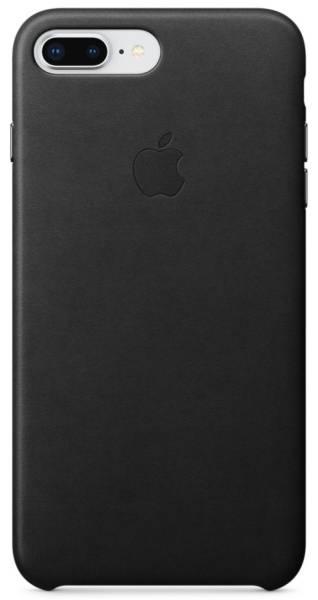 Kryt na mobil Apple Leather Case pro iPhone 8 Plus / 7 Plus (MQHM2ZM/A) čierny