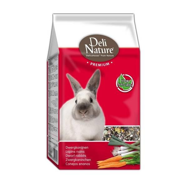 Krmivo Deli Nature Premium DWARF RABBITS Zakrslý králík 800 g