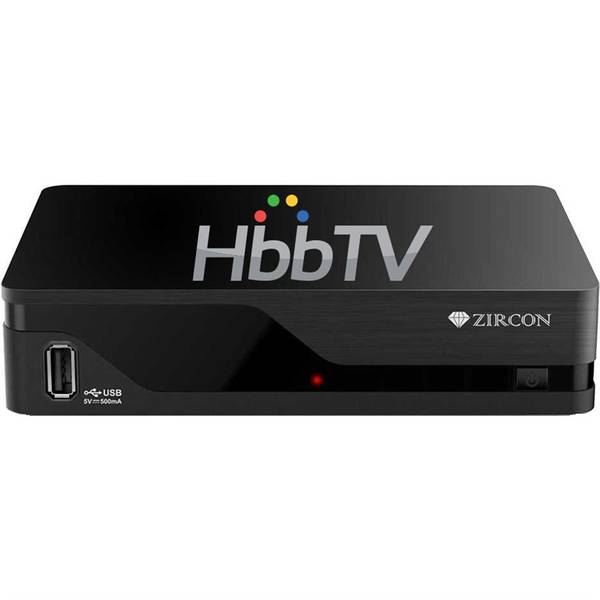 Set-top box Zircon AIR T2 s HbbTV černý