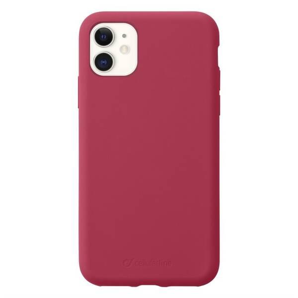 Kryt na mobil CellularLine SENSATION na Apple iPhone 11 (SENSATIONIPHXR2R) červený