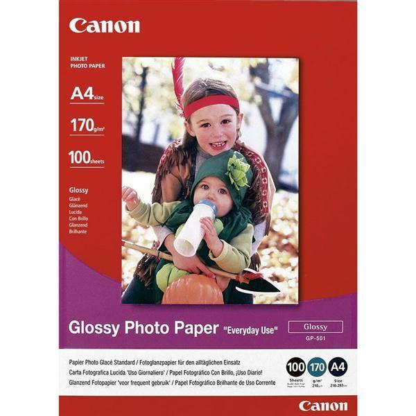 Papíry do tiskárny Canon GP501 A4,100 listů (0775B001) bílý