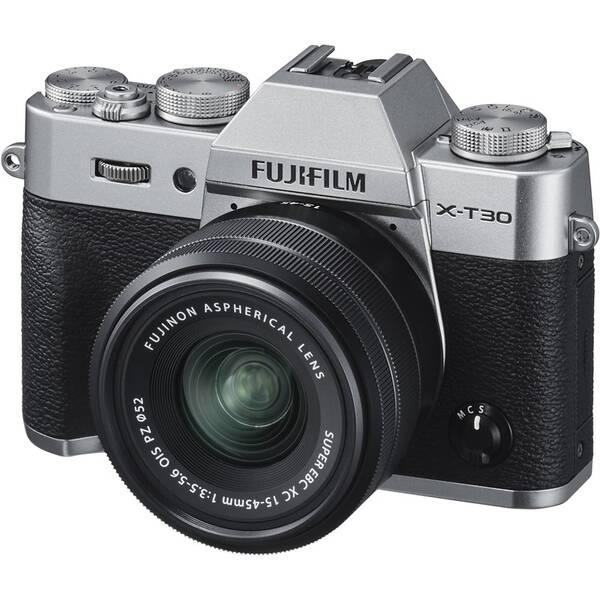 Digitální fotoaparát Fujifilm X-T30 + XC15-45 mm stříbrný