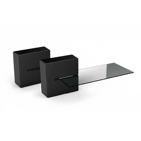 Organizér na kabely Meliconi GHOST CUBE Shelf (480521 BA) černý