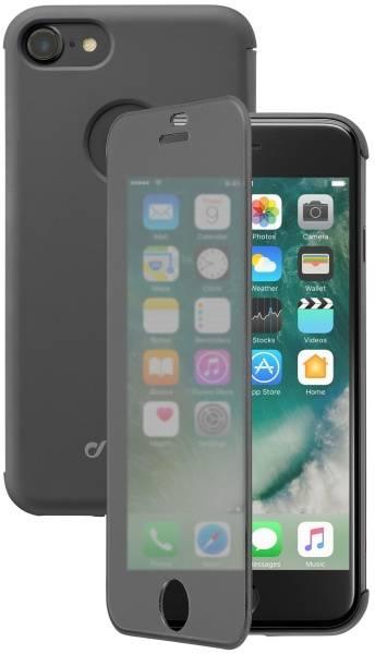 Pouzdro na mobil flipové CellularLine Touch pro Apple iPhone 8/7 (BOOKTOUCHIPH747K) černé (vrácené zboží 8800033227)