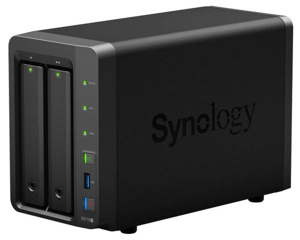 Datové uložiště (NAS) Synology DS718+ (DS718+) černé