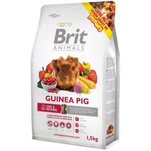 Krmivo Brit Animals Guinea Pig Complete 1,5 kg