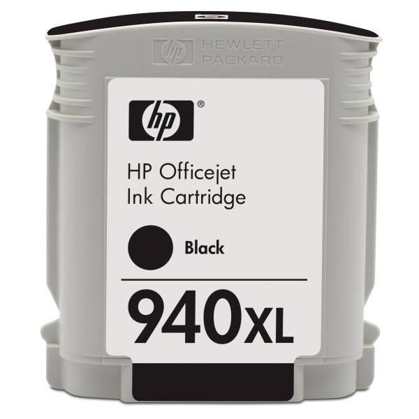 Inkoustová náplň HP No. 940XL, 49ml, 2000 stran - originální (C4906AE) černá