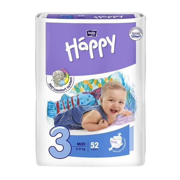 Plenky Bella Baby Happy Midi 52 ks