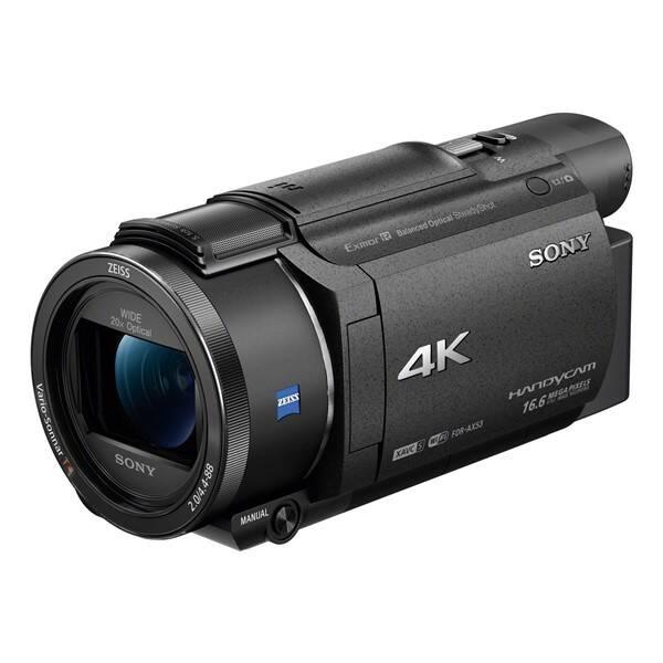Videokamera Sony FDR-AX53B černá