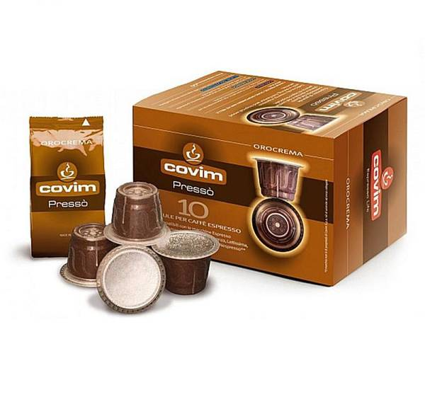 Kapsle pro espressa COVIM Orocrema pro Nespresso, 10 ks (374089)