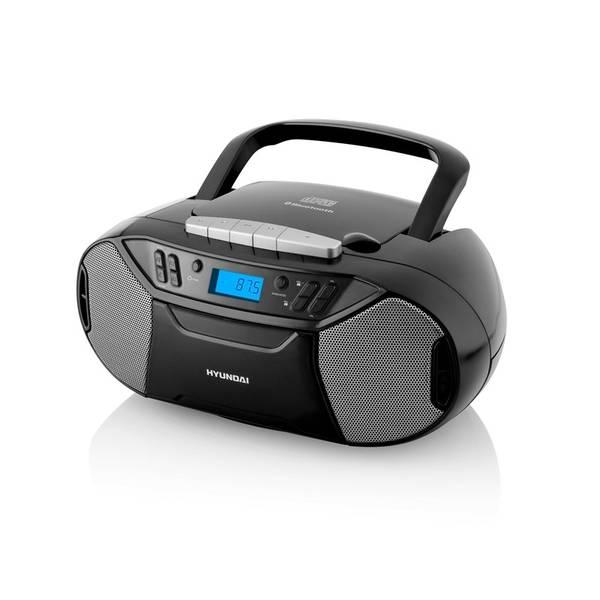 Radiomagnetofon s CD Hyundai TRC 333 AU3BTB černý