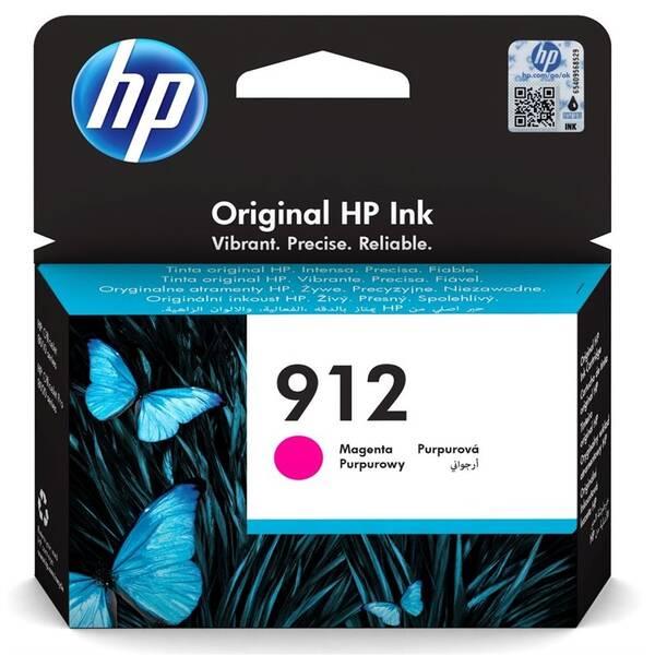Inkoustová náplň HP 912, 315 stran (3YL78AE) červená