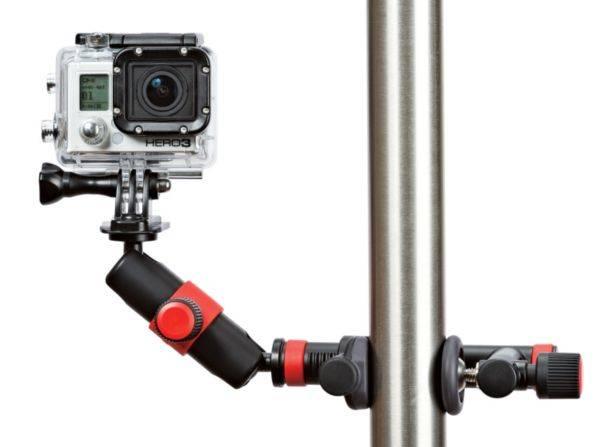 Držiak JOBY Action Clamp & Locking Arm (E61PJB01291) čierny/červený