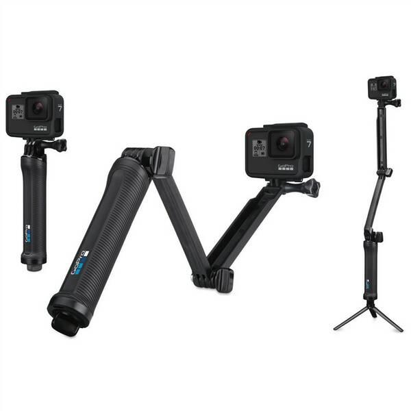 Selfie tyč GoPro 3-Way (AFAEM-001) čierny
