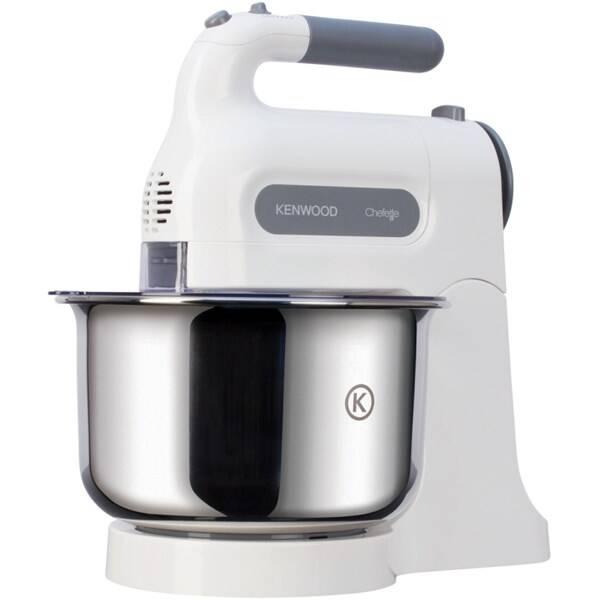 Ruční šlehač s mísou KENWOOD HM680 šedý/bílý