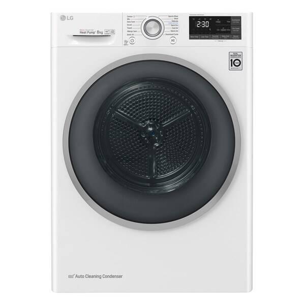 Sušička prádla LG RC81U2AV3W bílá