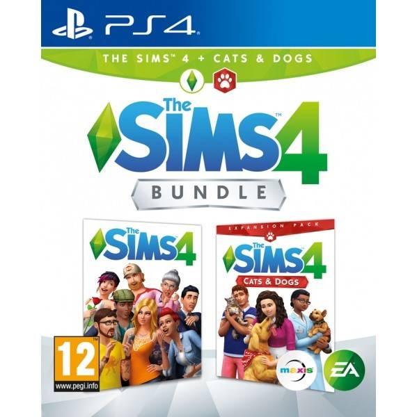 Hra EA PlayStation 4 The Sims 4 Základní hra + Psi a Kočky (EAP472903)