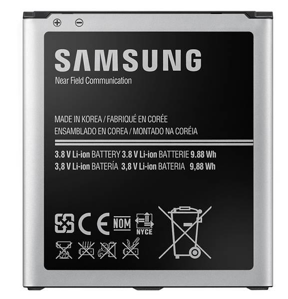 Batéria Samsung pro Galaxy S4 s NFC, Li-Ion 2600mAh (EB-B600BEBE) - bulk (EB-B600BEBECWW bulk) čierna