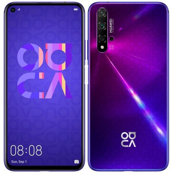 Mobilní telefon Huawei Nova 5T Dual SIM (SP-N5T128DSPOM) fialový