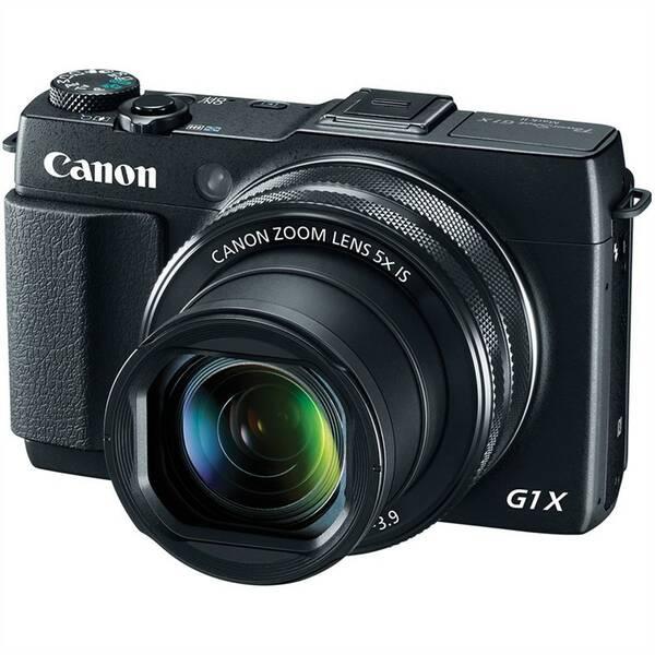Digitálny fotoaparát Canon PowerShot G1 X Mark II čierny
