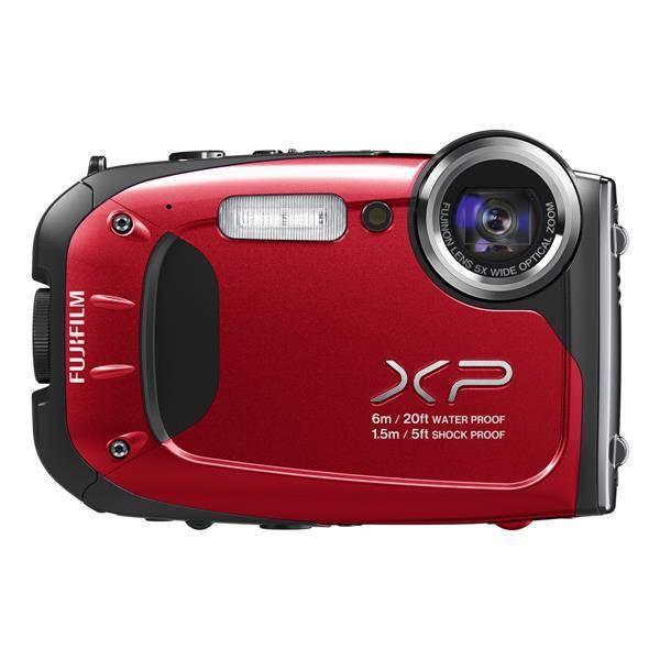 Digitální fotoaparát Fujifilm FinePix XP60 (16318588) červený