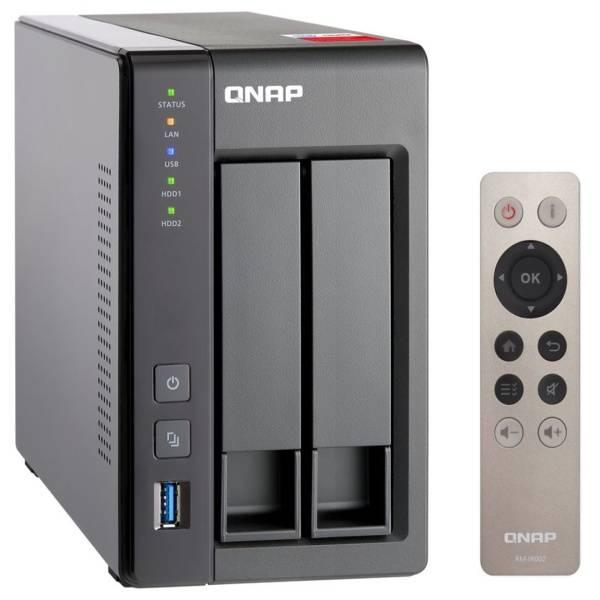 Datové uložiště (NAS) QNAP TS-251+-2G (TS-251+-2G) šedá