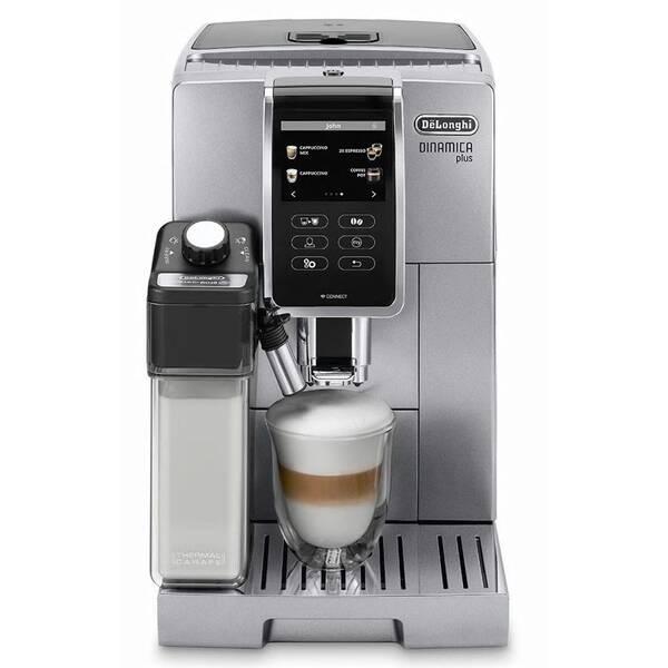Espresso DeLonghi Dinamica plus ECAM 370.95 S strieborné