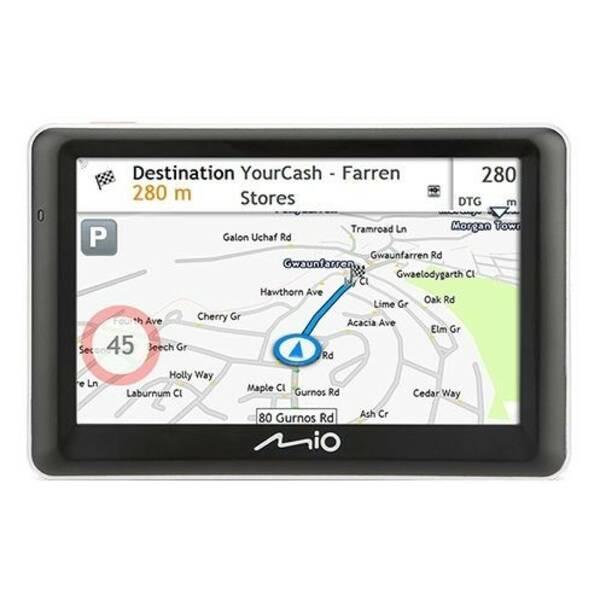 Navigační systém GPS Mio Spirit 7700 Full Europe Lifetime černá (vrácené zboží 8800721830)