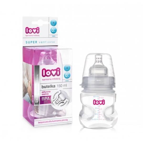 Kojenecká láhev LOVI Active 150ml 0% BPA