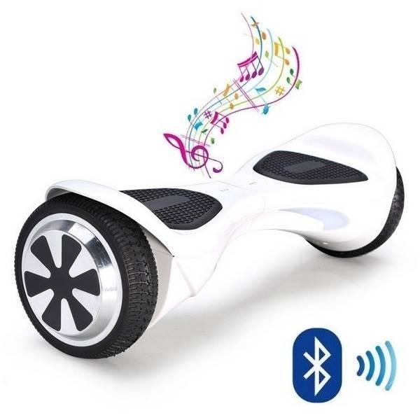 Hoverboard Kolonožka STANDART Auto Balance APP bílá