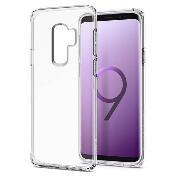 Kryt na mobil Spigen Liquid Crystal pro Samsung Galaxy S9+ (593CS22913) průhledný