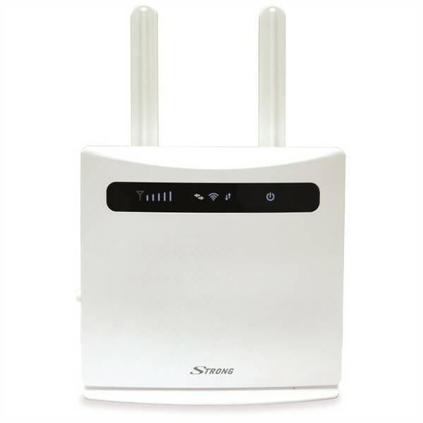 Router Strong 4G LTE 300 (4GROUTER300) bílý