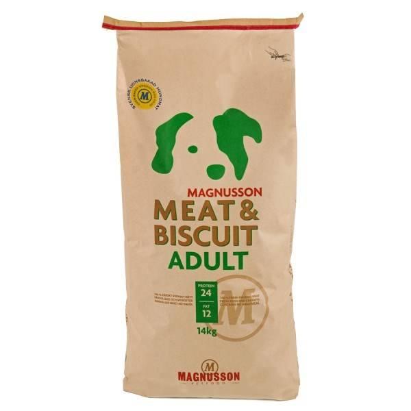 Granuly Magnusson Meat & Biscuit Adult 14 kg