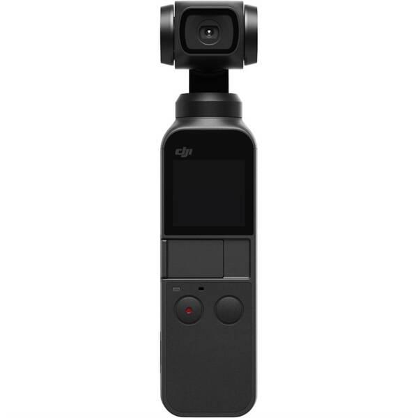 Outdoorová kamera DJI OSMO Pocket vreckový stabilizátor so vstavanou kamerou (DJI0640) čierna