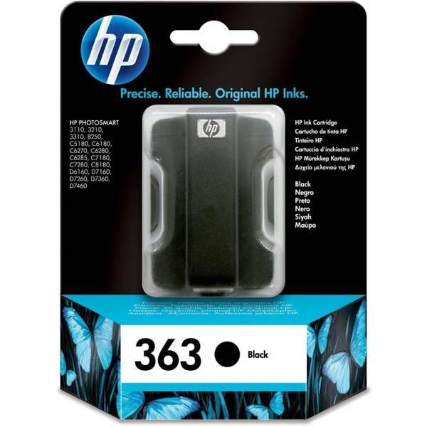 Inkoustová náplň HP 363, 6ml, 410 stran, (C8721EE) černá