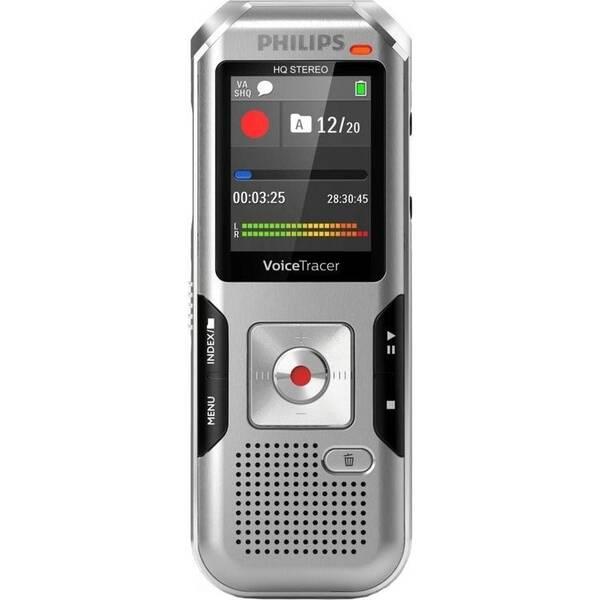 Diktafon Philips DVT4010 stříbrný (vrácené zboží 8800700730)